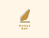 Masaz Bay Massage Chairs Logo + Flyer