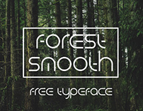 FOREST SMOOTH - FREE FUTURISTIC FONT