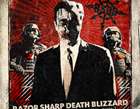 Razor Sharp Death Blizzard