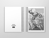 40+ Charming Spiral Notebook PSD Mockup Templates