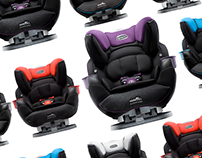 SafeMax. The industry's first rollover tested car seat.