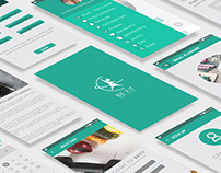 User Interface Design- BE FIT