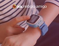 UX - UOL relógio amigo