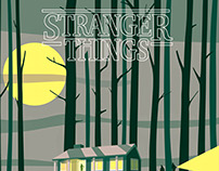 Alternative Stranger Things Poster
