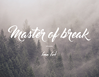 Master of Break Free Download Font