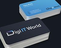 Logo Design for Digital IT World