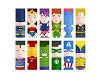Superheroes Unite