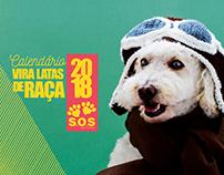 Calendário Vira Latas de Raça 2018