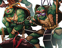 TMNT Illustration