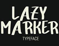 Lazy Marker: Font