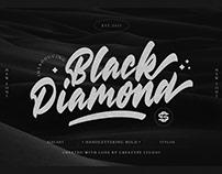 BLACK DIAMOND HANDLETTERING BOLD - FREE FONT