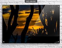 Sunset Landscape Scene Print Collection