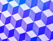 BLUE ANTIC TILE