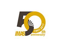 IMAS 50th Anniversary Logo