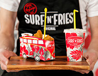 Surf'n'fries rebranding