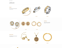 Concept Jewellery Landing Page