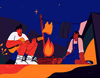 Illustration for Campfire WA