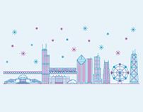 Happy Holidays: Chicago Animation