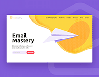 Website design for Email Mastery