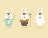 Rabit MIXI - Cartoon Design For ZJL Food
