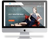 Noakhali Shop PSD e-Commerce Website Template.