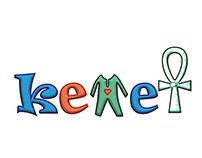 kids wear kemet logo