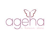 Logo shop Korea Ageha
