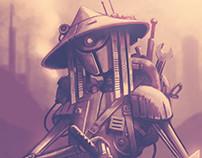 Ramshackle Robot Samurai