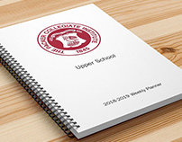 Packer Collegiate Institute, 2018-2019 Weekly Planner