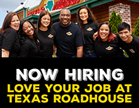 Texas Roadhouse Hiring