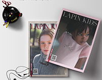 LAPIN HOUSE Catalogue Design / Kids Fashion