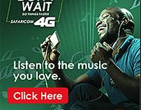 Safaricom 4G Google Ads