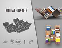 Estante de Livro Modular // Modular Bookshelf