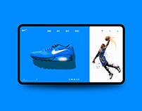 Nike Web UI Inspiration