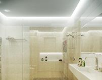 Marazzi tilles Bathroom.