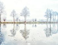 Poland during winter time - Kolanowice