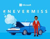 Microsoft | #NeverMiss