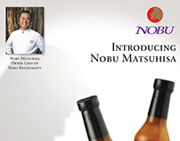 Nobu Matsuhisa Dressing Products Poster
