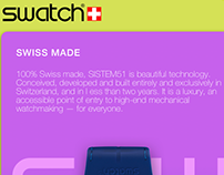 SWATCH app Android prototype