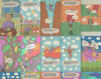 Mau's Adventure - Comic and Animated Comic - Episode 1