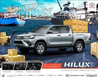 Campaña Lanzamiento Hilux 2016