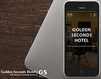 Golden Seconds Hotel web design