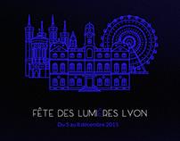 Conception application mobile Fête des Lumières de Lyon