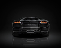 Lamborghini Aventador - 50 Shades of Grey