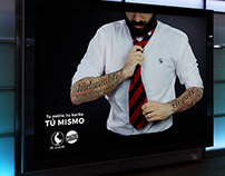 El Ganso & Macho Beard Company - Advertising