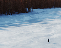 Winter landscape (Full CG)