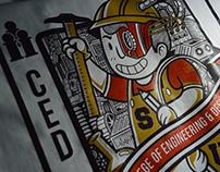 Engineering & Design T-shirt Design