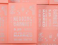 Wang & Cheng's Wedding Invitation