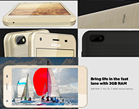 Website Layout for InFocus Smartphone