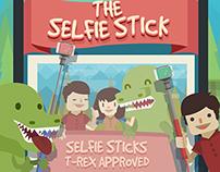 Selfie Stick Poster Promo